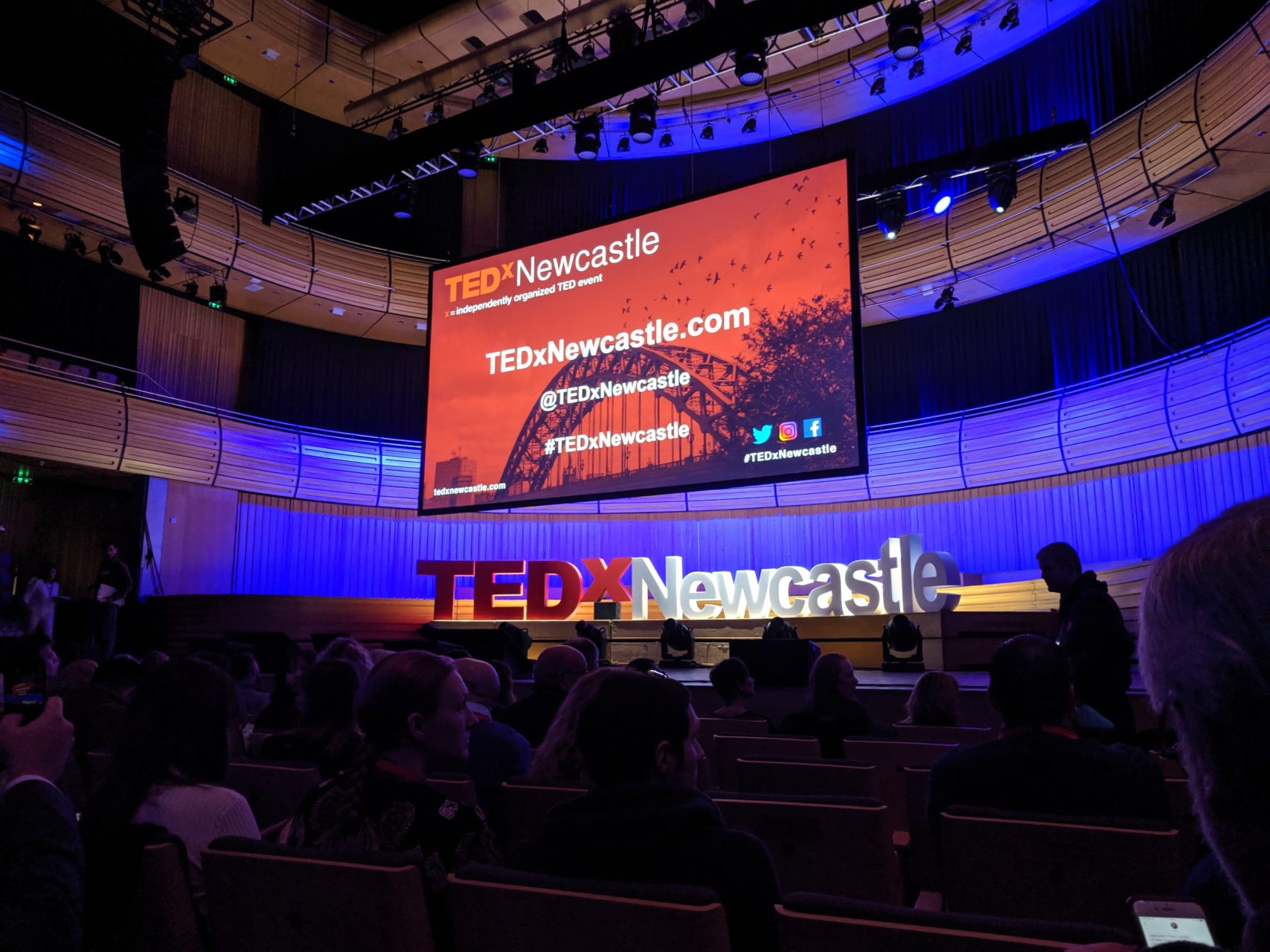 TedxNewcastle stage