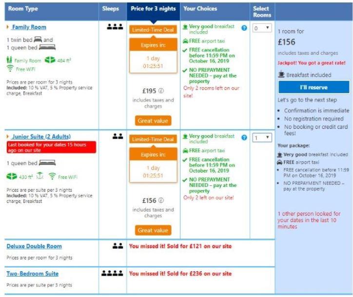 Booking.com Component