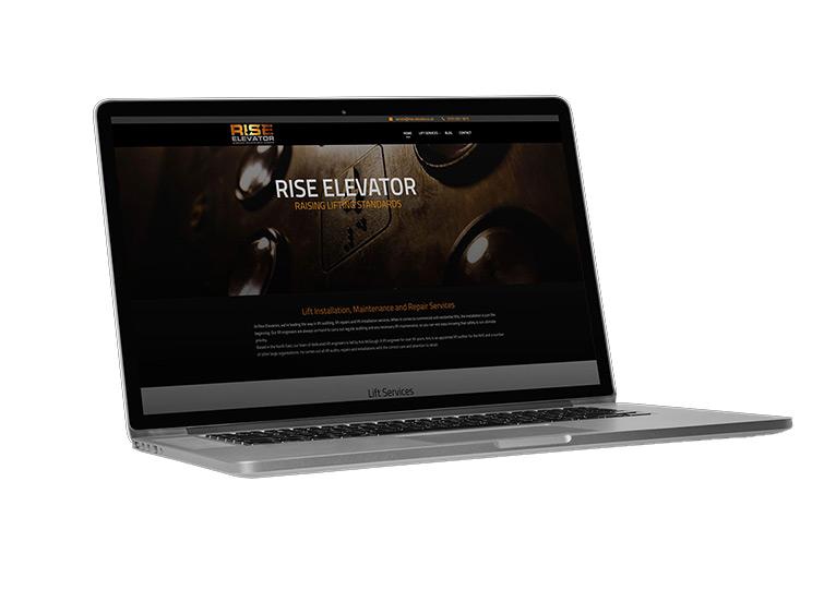 Rise Elevator Website