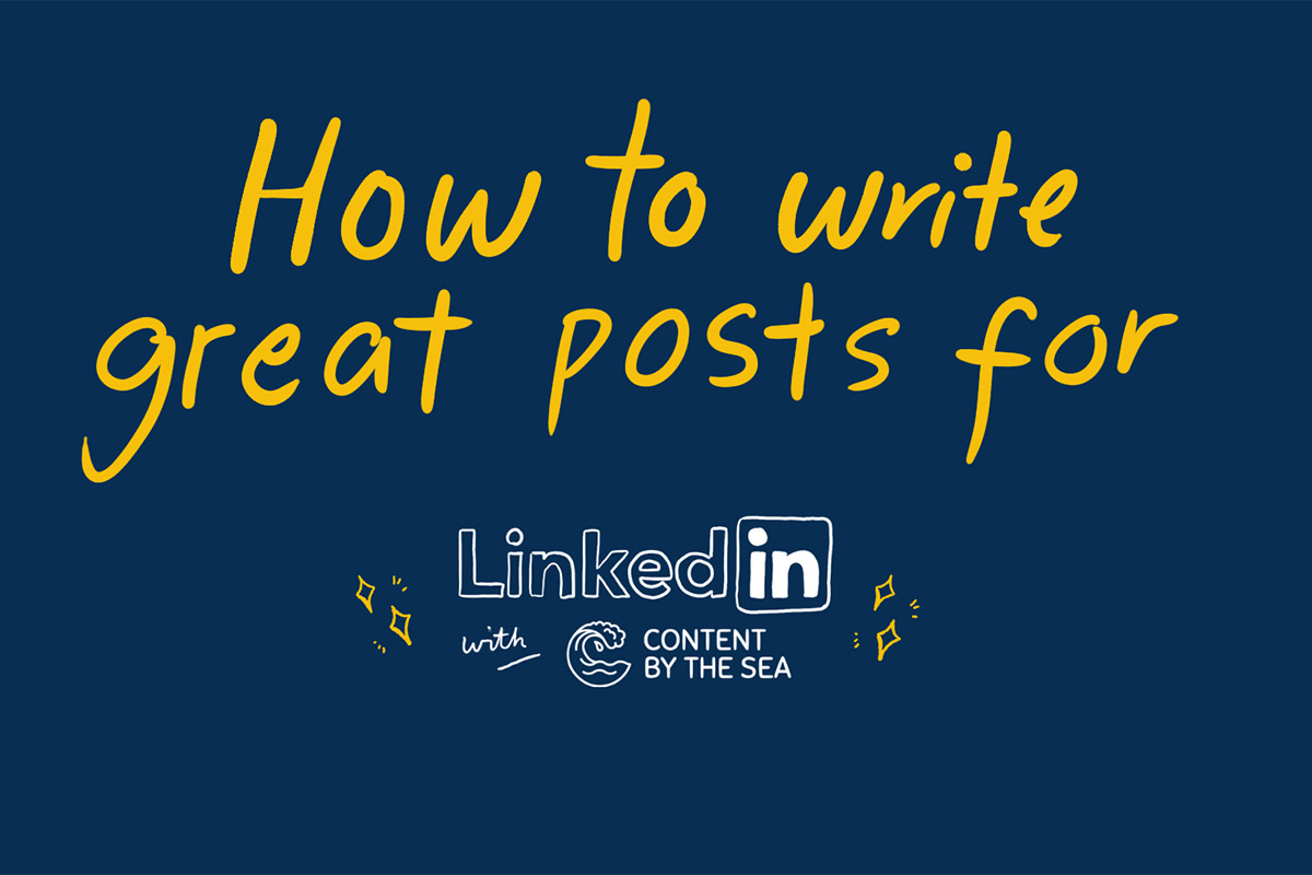 How to write great posts